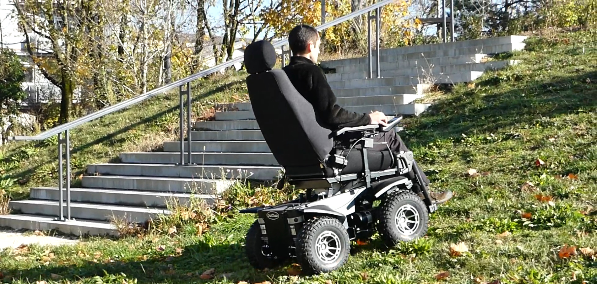 OutChair Allrad Gelände Rollstuhl